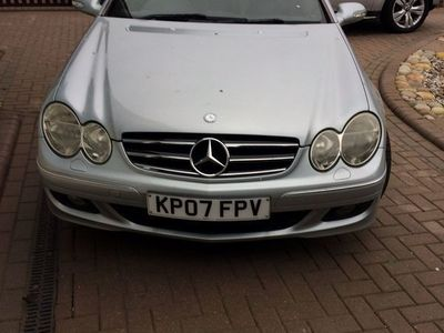 used Mercedes CLK200 CLK 1.8Kompressor Avantgarde Cabriolet 2dr
