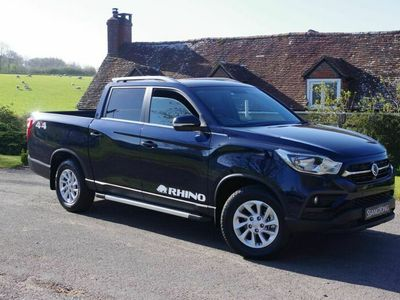 used Ssangyong Musso Double Cab Pick Up Rhino 4dr Auto AWD