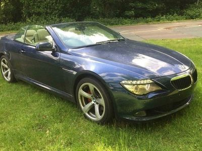 used BMW 635 6-Series Convertible d Sport (2010) 2d Auto