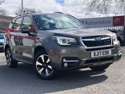 used Subaru Forester 2.0i XE Premium Hunter Green Lineartronic 4WD (s/s) 5dr