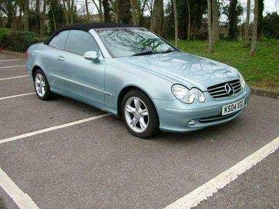 used Mercedes CLK200 Avantgarde 2dr Tip Auto