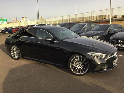 used Mercedes CLS400 CLS DIESEL COUPE4Matic AMG Line Premium + 4dr 9G-Tronic 2019/19