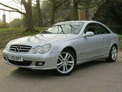 used Mercedes CLK200 CLK 1.8KOMPRESSOR AVANTGARDE 2d 161 BHP
