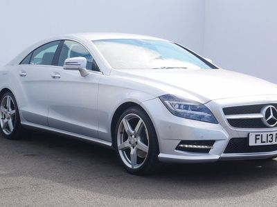 used Mercedes CLS250 CLSCDI BlueEFFICIENCY Sport 4dr Tip Auto Silver Automatic Diesel