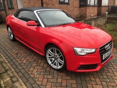 used Audi A5 Cabriolet Cabriolet 2.0 TDI S line Special Edition 2dr