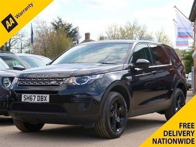used Land Rover Discovery Sport 2.0 ED4 PURE 5d 150 BHP 5-Door FREE NATIONWIDE DELIVERY