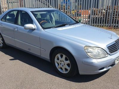 used Mercedes S320 S Class- MOT 31/10/2020 - PX TO CLEAR Auto