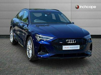 used Audi E-Tron - SPORTBACK SPECIAL EDITI 300kW 55 Quattro 95kWh Launch Edition 5dr Auto sportback special editions