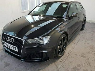 used Audi A3 Sportback RS3 2.5 TFSI RS 3 Quattro (Nav) 5d S Tronic