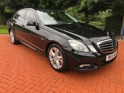 used Mercedes E350 E-Class 3.0CDI BLUEEFFICIENCY AVANTGARDE 4d 231 BHP