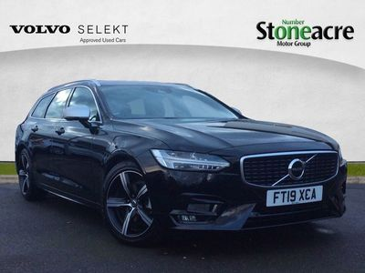 used Volvo V90 2.0 D4 R-Design Estate 5dr Diesel Automatic (127 g/km, 190 bhp)