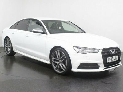 used Audi A6 4.0 TFSI QUATTRO S6 BLACK EDITION 4d 444 BHP SAT NAV Heated Seats Memory Seats Parking Sensors 20 inch Alloys Service History One Owner Service History only 1 Owner