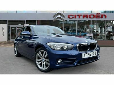 used BMW 116 1 Series d Sport 5dr Step Auto