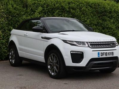used Land Rover Range Rover evoque 2.0 TD4 SE DYNAMIC 3d 177 BHP Low Mileage One Own