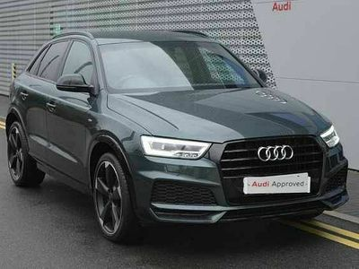 used Audi Q3 Black Edition 1.4 TFSI cylinder on demand 150 PS S tronic