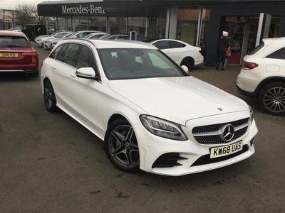 used Mercedes C200 C CLASS ESTATEAMG Line 5dr 9G-Tronic