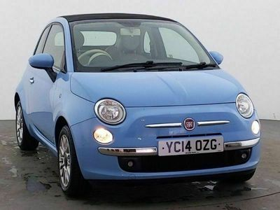 used Fiat 500C 1.2 Lounge 2dr [Start Stop]