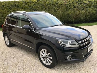 used VW Tiguan 2.0 TDI BlueMotion Tech SE DSG 4WD (s/s) 5dr
