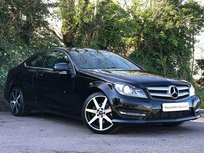 used Mercedes C250 C-ClassCDI AMG Sport Edition 2dr Auto [Premium]