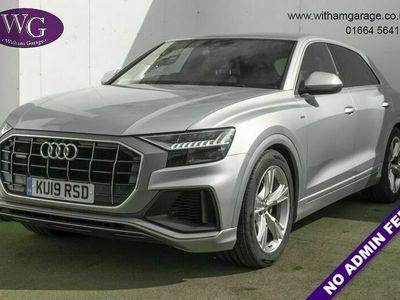 used Audi Q8 3.0 TDI QUATTRO S LINE 5d 282 BHP