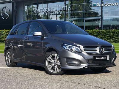 used Mercedes B180 B ClassExclusive Edition 5dr mpv 2018