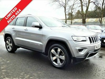 used Jeep Grand Cherokee 3.0 V6 CRD LIMITED PLUS 4X4 AUTO 5d 247 BHP