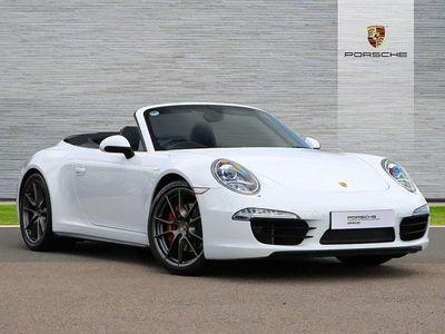 used Porsche 911S 2dr Cabriolet