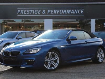 used BMW 640 Cabriolet 640i M Sport 2dr Auto