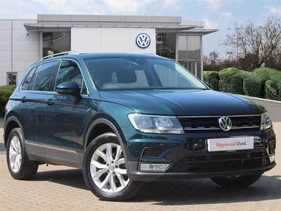 used VW Tiguan 2.0 TDI 150PS SE 4Motion DSG 5d