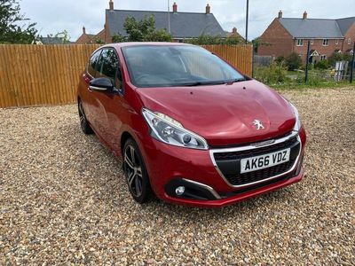 used Peugeot 208 1.6 THP GT Line (s/s) 3dr