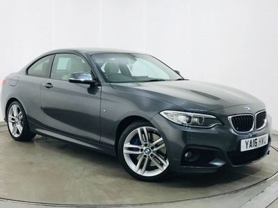 used BMW 225 2 Series 2.0 d M Sport Auto (s/s) 2dr