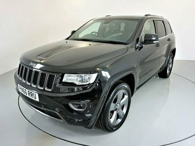 """used Jeep Grand Cherokee 3.0 V6 CRD OVERLAND 5d AUTO-20"""" ALLOYS-PANORAMIC ROOF-HEATED BLACK LEATHER-"""