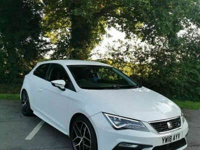 used Seat Leon 2.0 TDI FR Titanium Technology Sport Coupe (s/s) 3dr