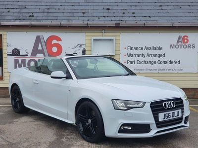 used Audi A5 Cabriolet Cabriolet 2.0 TFSI S line Multitronic 2dr