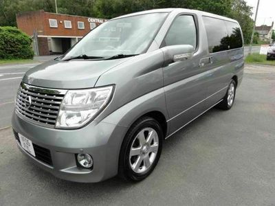 used Nissan Elgrand X EDITION SUNROOFS 51000 MILES 2.5 5dr