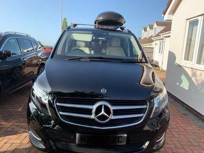 used Mercedes V250 V Class 2.2Sport G-Tronic+ LWB EU6 (s/s) 5dr 8 Seat LWB