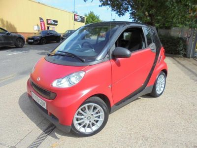 used Smart ForTwo Cabrio 1.0 Passion 2dr Full Leather Interior 2009