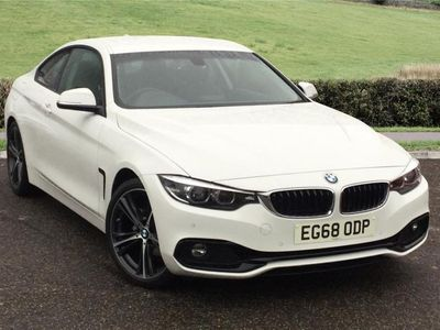 used BMW 420 4 SERIES COUPE i M Sport 2dr Auto [Professional Media]