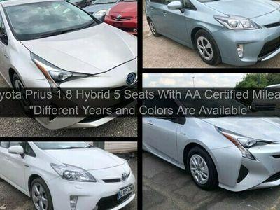 used Toyota Prius 1.8 Hybrid 5 Seats AA Certified MIleage