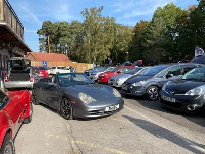 used Porsche 996 MK PETROL MANUAL CONVERTIBLE