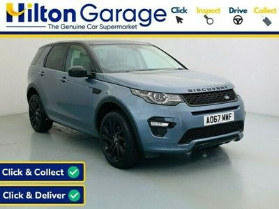 used Land Rover Discovery Sport 2.0 TD4 HSE DYNAMIC LUX 5d AUTO 180 BHP [PANORAMIC ROOF. BLACK PACK]