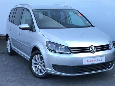 used VW Touran DIESEL ESTATE 1.6 TDI 105 BlueMotion Tech SE 5dr