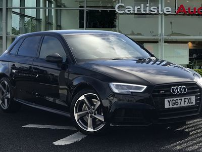 used Audi A3 Sportback Black Edition 2.0 TFSI quattro 310 PS S tronic
