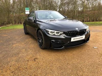 used BMW M4 M4 SeriesConvertible Competition Package 3.0 2dr