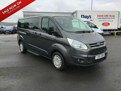 used Ford 300 Tourneo Custom 2.2 TDCiZetec Low Roof Bus S 5dr (8 Seats, SWB)