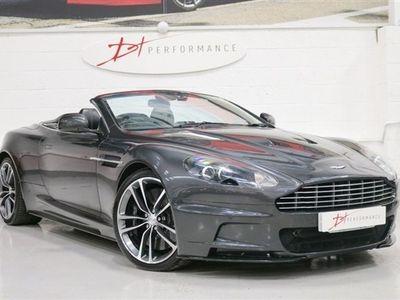 used Aston Martin DBS 5.9 V12 VOLANTE 2d AUTO 510 BHP QUANTUM SILVER