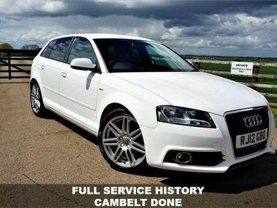 used Audi A3 1.6 TDI S LINE 5d 103 BHP