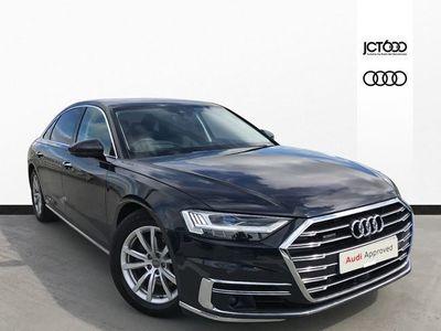 used Audi A8L 50 TDI Quattro 4dr Tiptronic [C+S] diesel saloon