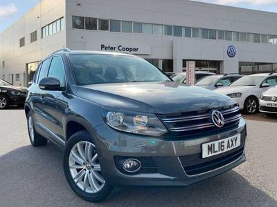 used VW Tiguan 2.0 TDI 150 Match 4Motion SCR DSG