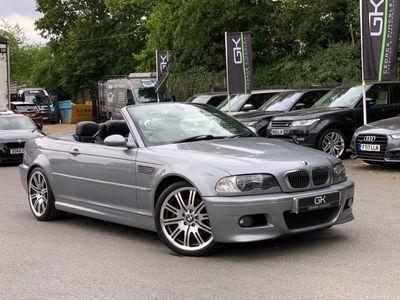 used BMW M3 Cabriolet M3 CONVERTIBLE - MANUAL - SAT NAV - HEATED SEATS - APPRECIATING E46 2-Door